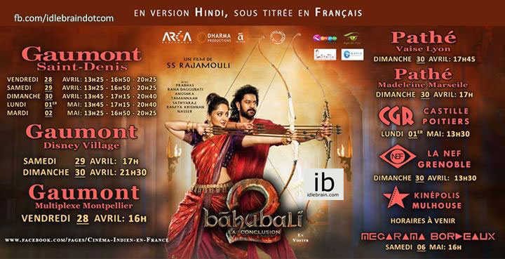 idlebrain.com - Baahubali 2 in France - Telugu cinema news