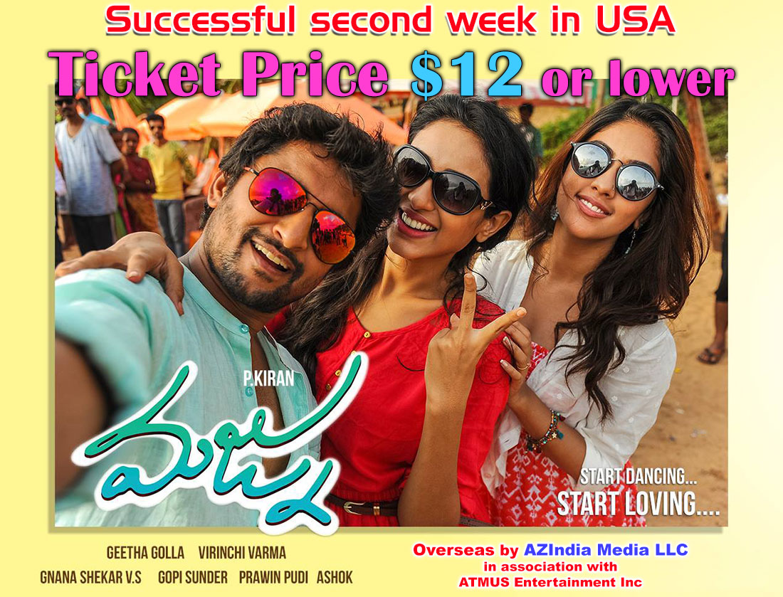 Majnu Successful second week in USA
