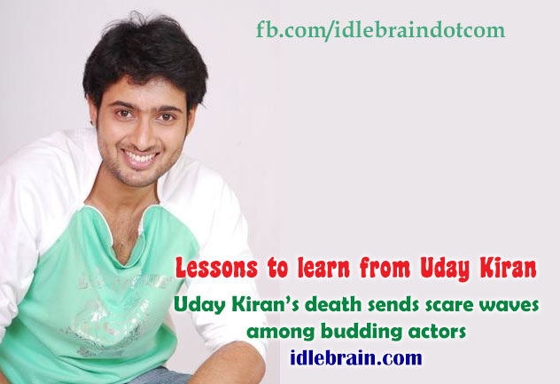 Lessons to learn from Uday Kiran , Uday Kiran's death ... Uday Kiran Death Date