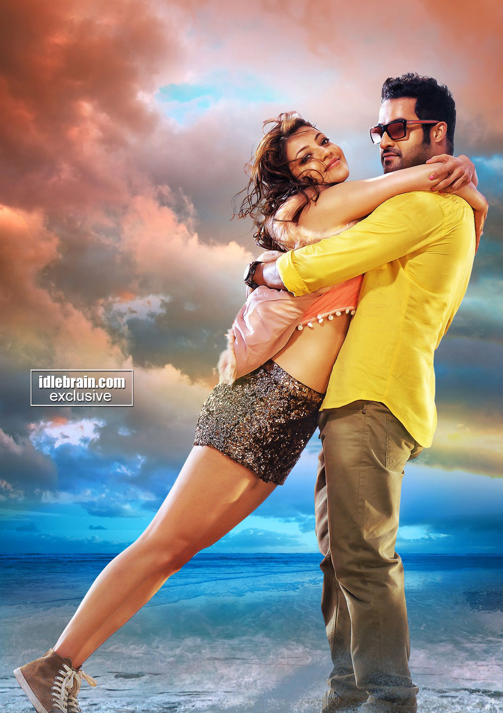 ... .com > Photo Gallery > Telugu cinema Temper ( NTR & Kajal Agarwal