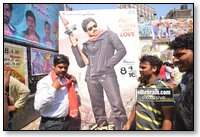 Gabbar Singh Hungama in Hyderabad - Photo Coverage